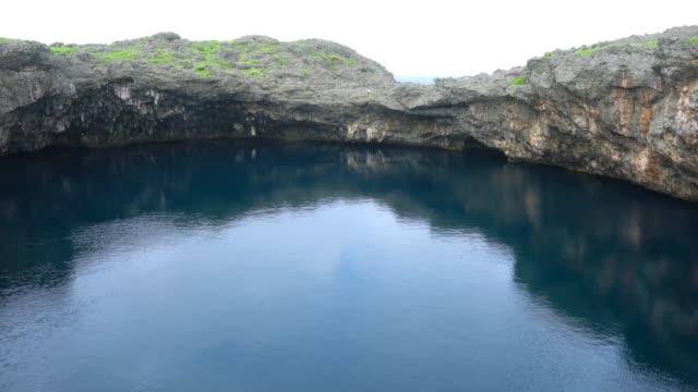 Toori ike pond in Shimojishima island, Okinawa, Japan video