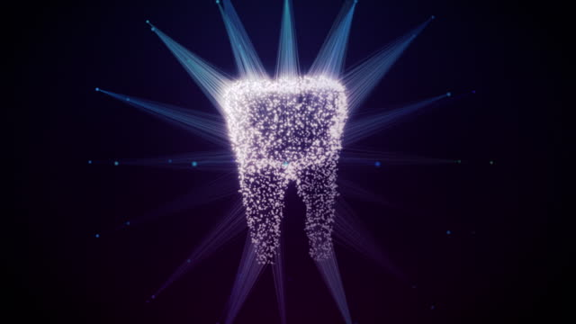 Tooth 3D Printing Fast Animation