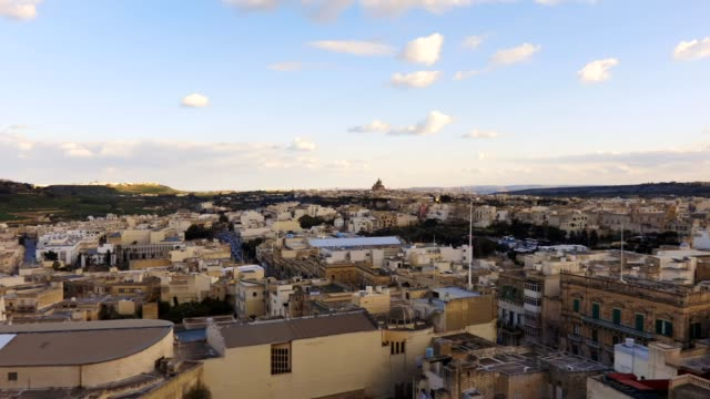 Top and panoramic view of Malta Valletta video
