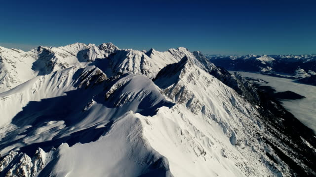 Top of the Alps - Aerial View video