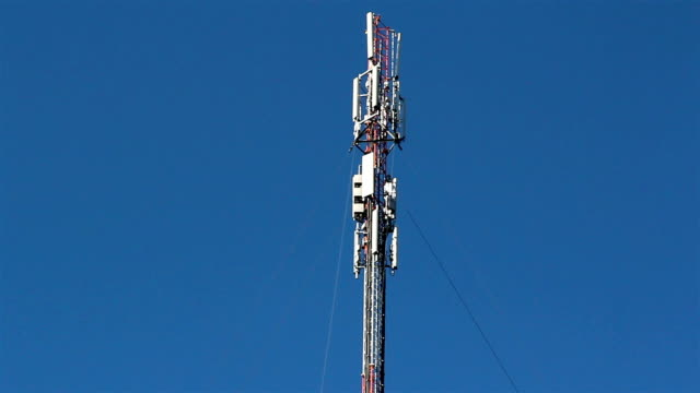 Top of the mobile tower video
