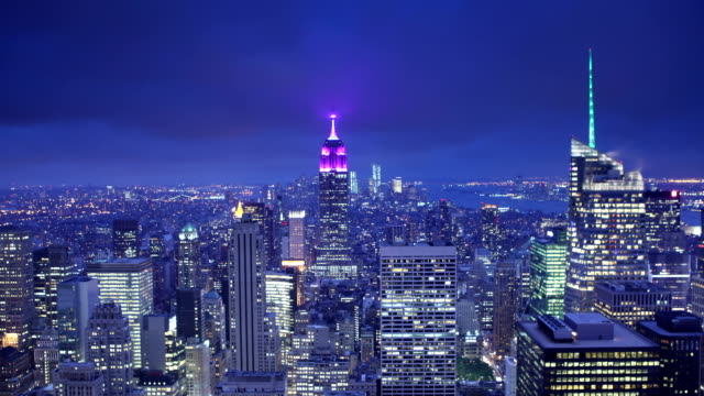 Top of the Rock Dusk to Night video