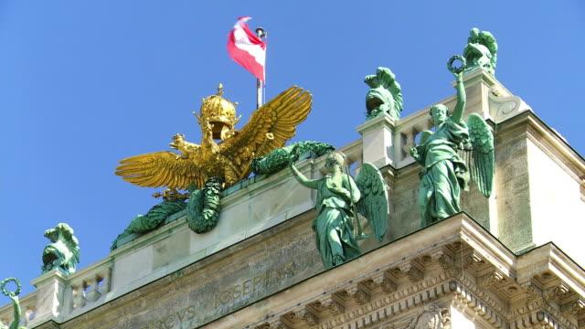 Spitze der Wiener Hofburg Palast Cinemagramm – Video