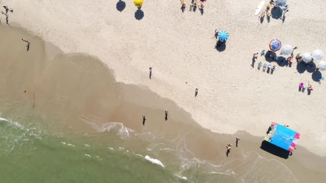 Top View of a Beach video