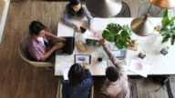 istock Top view of Business Team Meeting 931768634