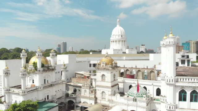 Top view of Colombo city in Sri Lanka Colombo commercial capital and largest city of Sri Lanka colombo stock videos & royalty-free footage