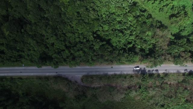 Top view of highway video