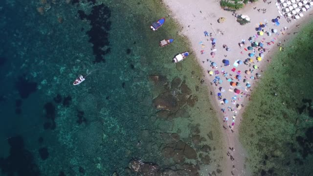 Top View of Paradise Island video