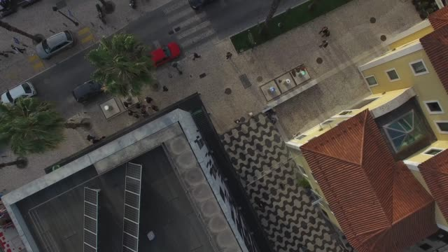 Top View of Street by Drone video