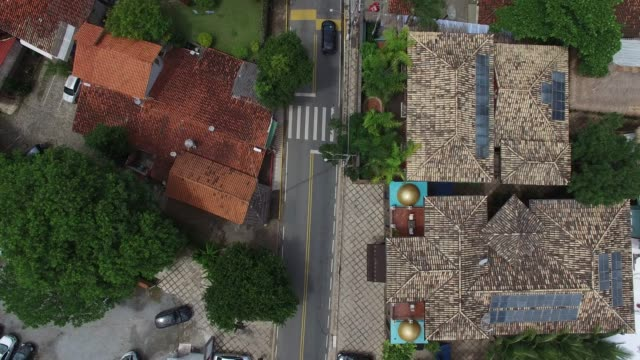 Top View of Street video