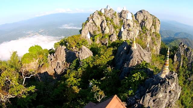 Top View Wat Chalermprakiat Prajomklao Rachanusorn Temple video