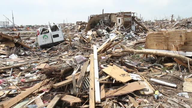 vídeos y material grabado en eventos de stock de tornado desolación - tornado