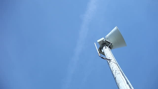 vídeos y material grabado en eventos de stock de tornado sirena de advertencia de emergencia, parada de emergencia - tornado