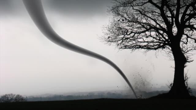 tornado - tornado video stock e b–roll