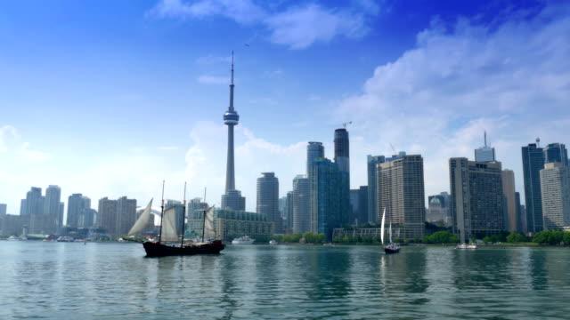 торонто, канада общий план - онтарио канада стоковые видео и кадры b-roll