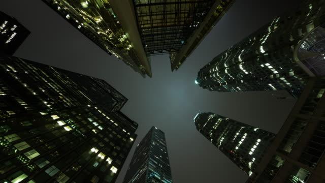 toronto financial district - toronto stock videos & royalty-free footage