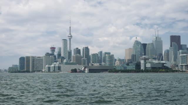 Toronto Skyline on a cloudy day video