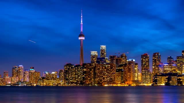 Toronto Skyline Time Logos removed video