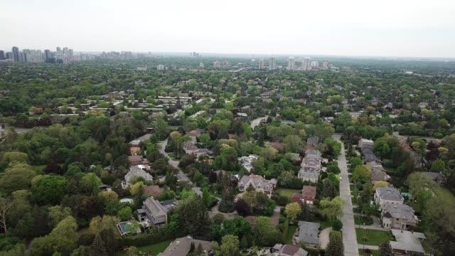 Toronto spring skyline - video