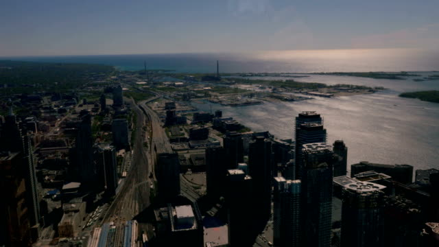 Toronto's Downtown from a Bird's Eye View video