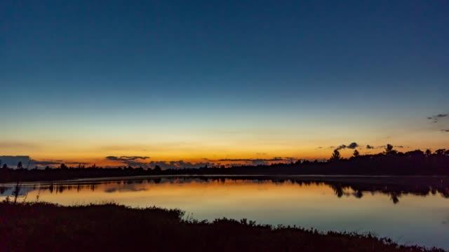 Torrance Barrens Dark-Sky Preserve at dusk, Gravenhurst, Canada