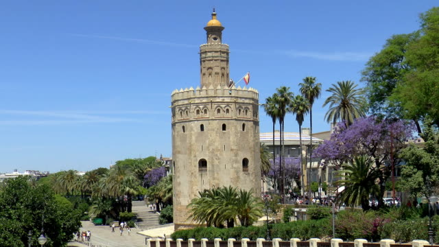 Torre del Oro - Seville, Spain video