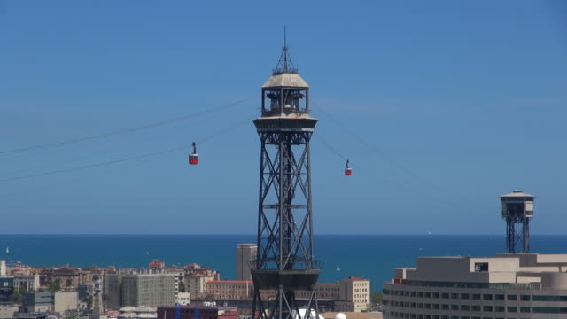 Torre Jaume I - Barcelona, Spain video