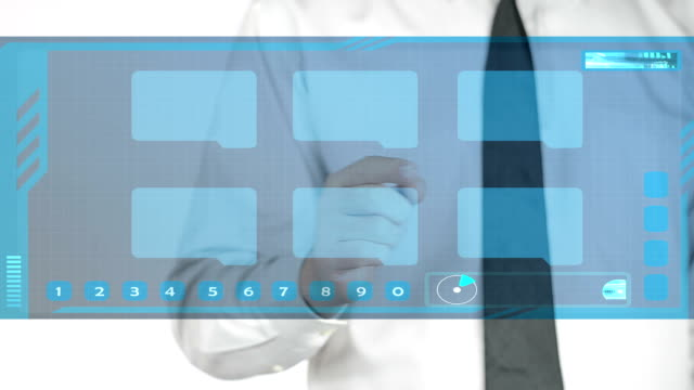 Touch Screen Filing HD Video video