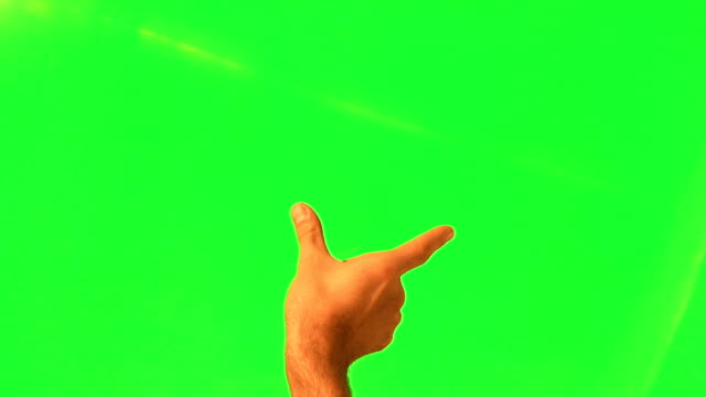 Touchscreen gestures, male hand - green screen and alpha matte Touchscreen gestures - male hand - green screen and alpha matte pinching stock videos & royalty-free footage