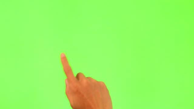 タッチスクリーンの特長 - 指点の映像素材/bロール