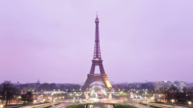 Tour Eiffel Timelapse, HD Video, Paris video