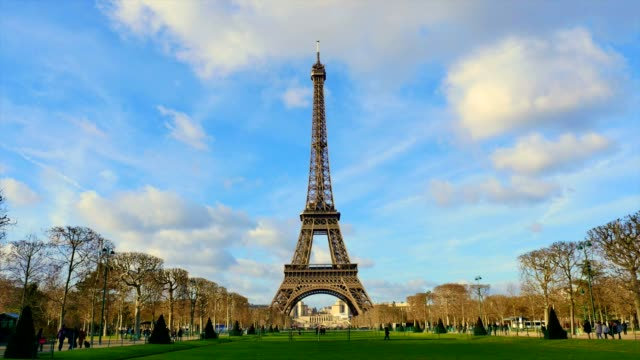 Tour Eiffel-Time-Lapse-Paris-France video