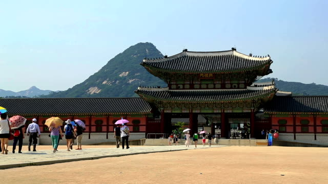Tour In Gyeongbokgung Palace video