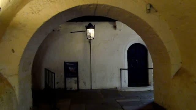 A tour inside the medieval church video