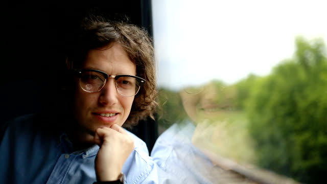 Tourist in train video