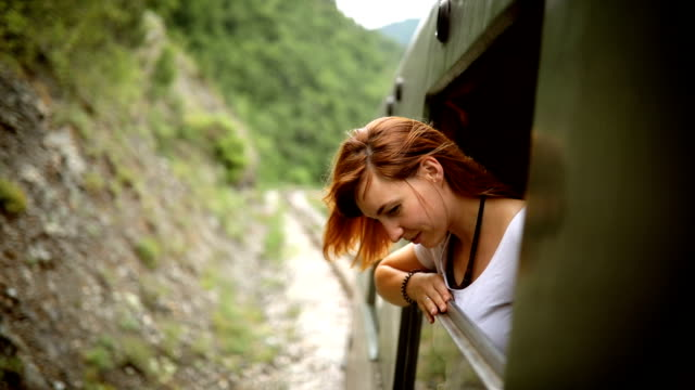 Touristic train ride