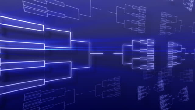 tournament bracket background - competition stok videoları ve detay görüntü çekimi