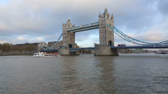 Tower Bridge in London video