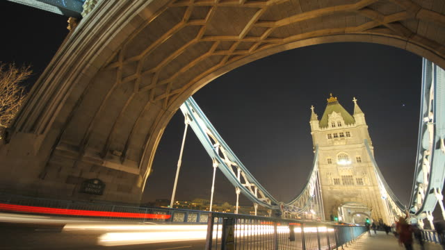 Tower Bridge London time-lapse video