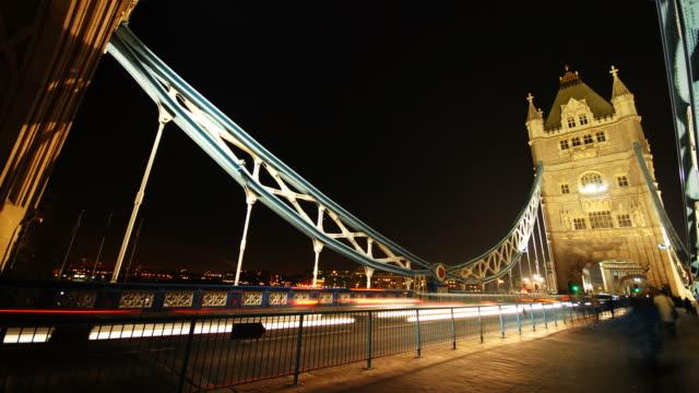 Tower Bridge London time-lapse