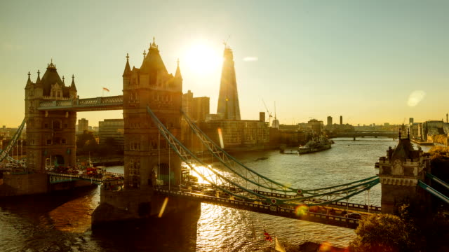 Tower Bridge Sunset Time Lapse