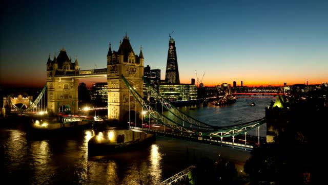 Tower Bridge Time Lapse video