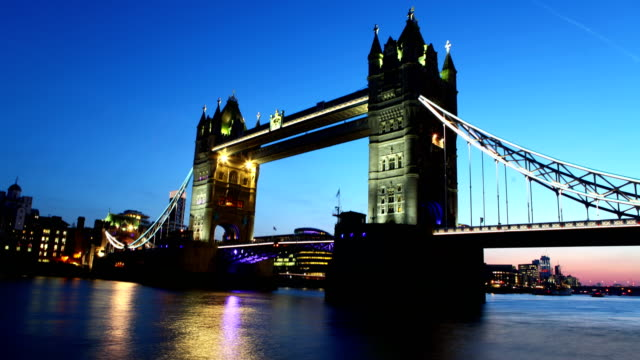 Tower Bridge time lapse video video