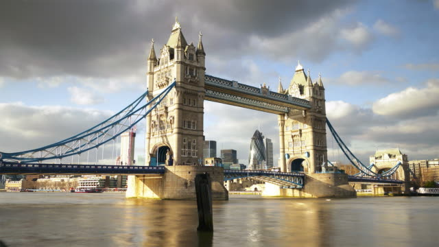 Tower Bridge time-lapse London video