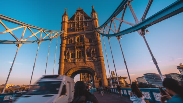 tower bridge - london architecture stock videos & royalty-free footage