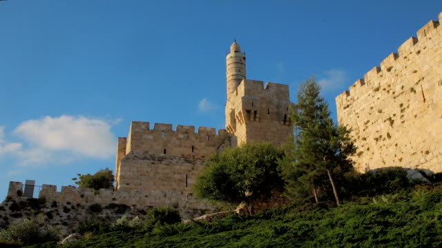 Tower of David in Jerusalem video