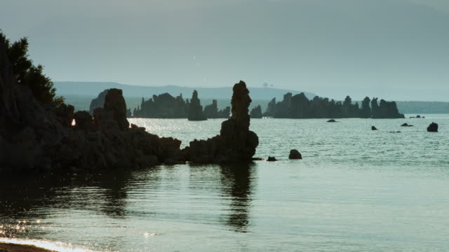 Towers and Islands at Mono Lake video