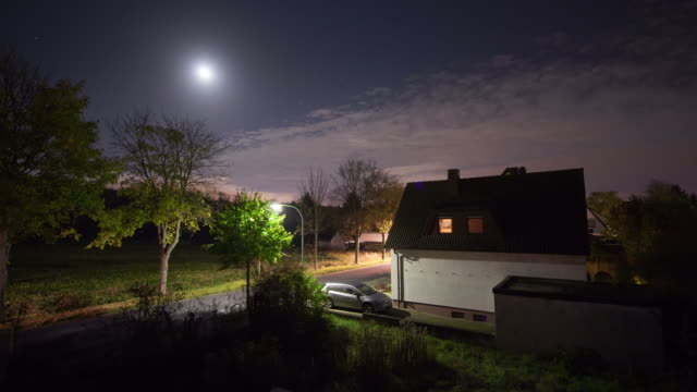 TIME LAPSE: Town at Night video
