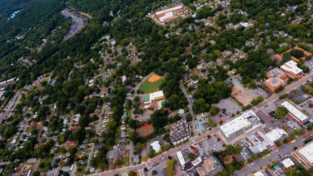 Town of Chapel Hill and University of North Carolina Overflight video