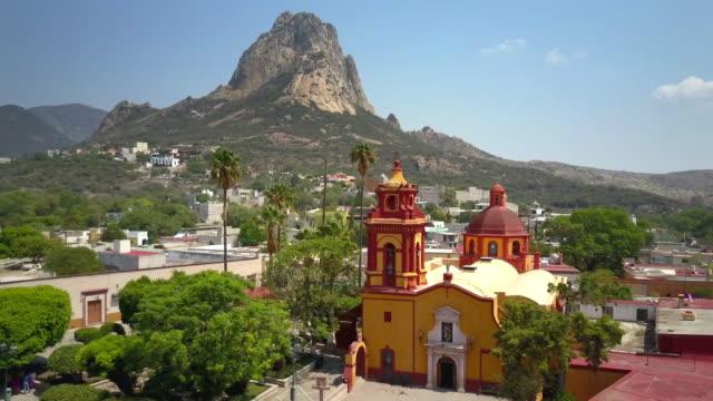 Town of Peña de Bernal in Queretaro video
